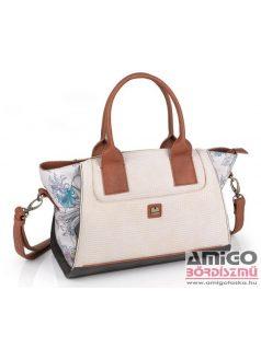 Kimmidoll barna szegecses műbőr női laptop táska 29624 01