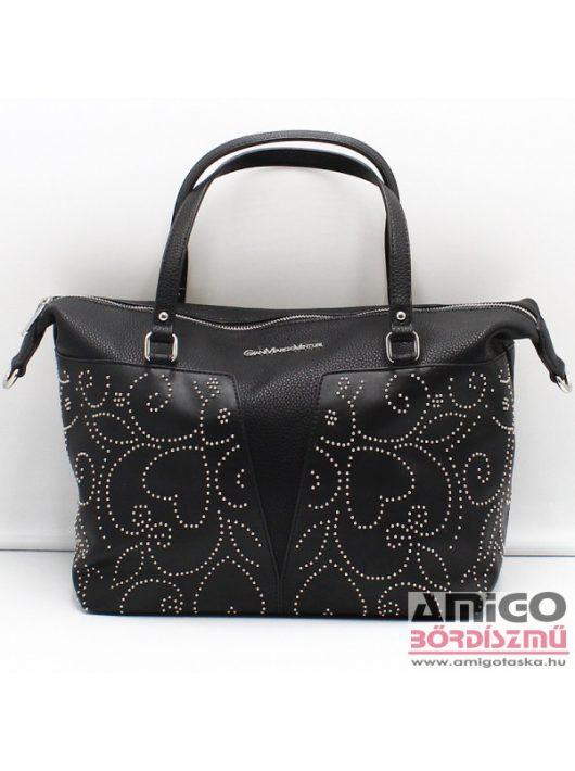 Gianmarco venturi fekete női műbőr táska g10-0069m08